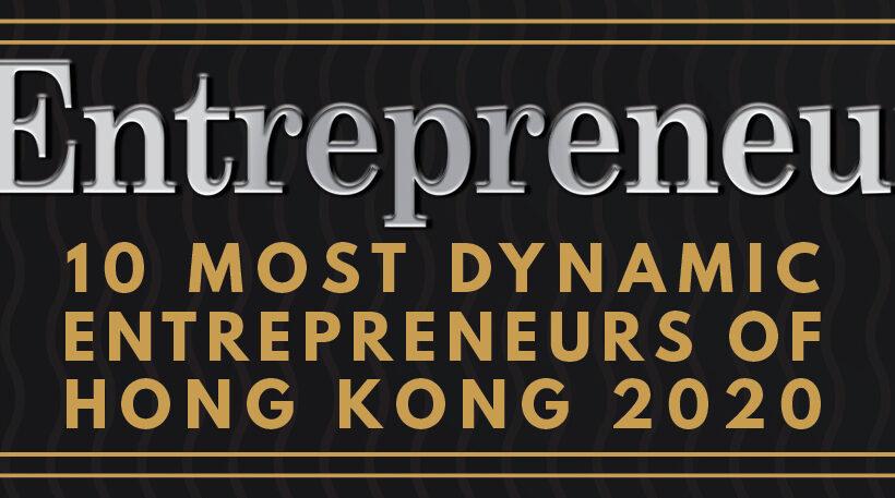 Estelle Neve, 10 Most Dynamic Entrepreneurs of Hong-Kong 2020!